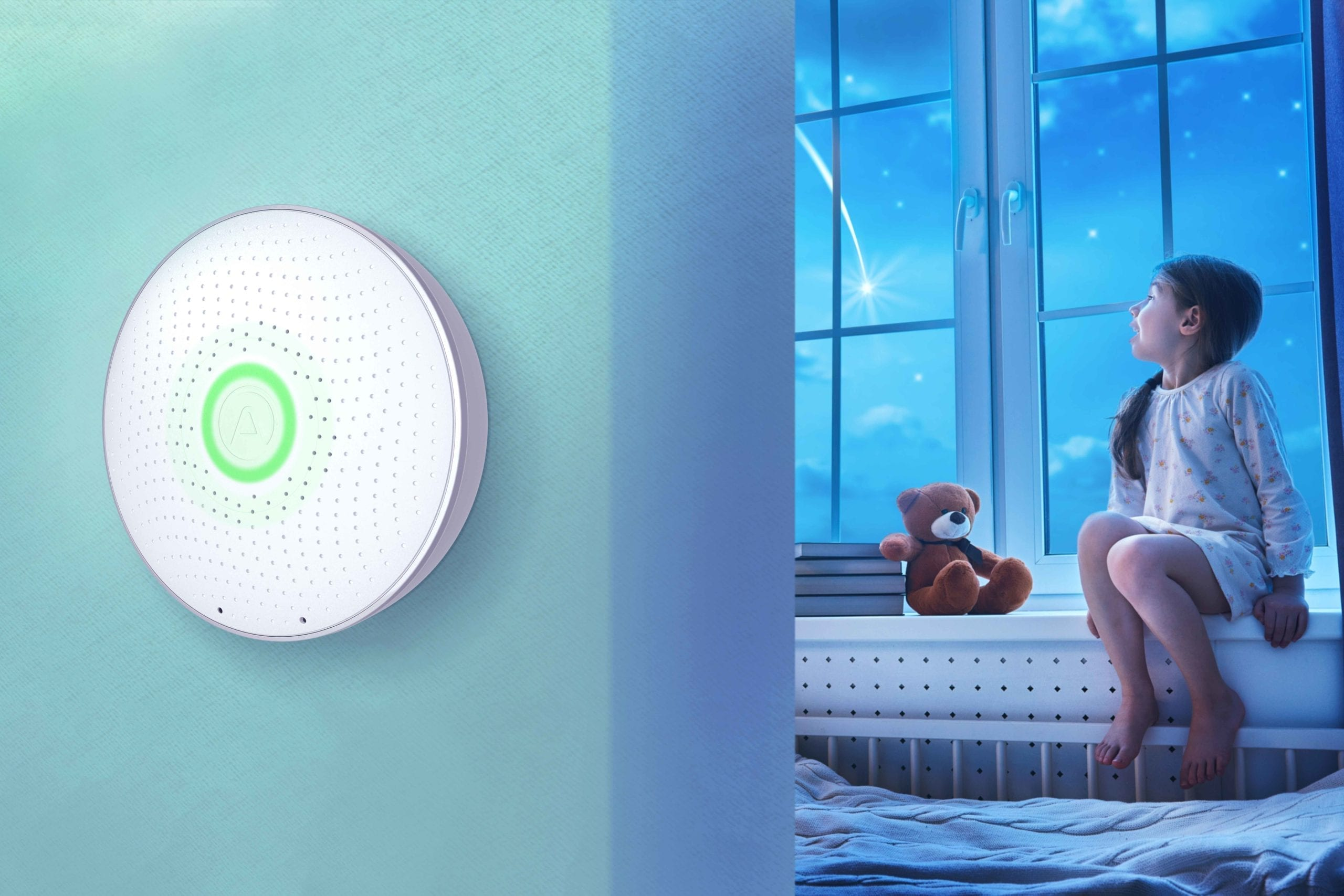 Air quality smart sensor in Hubsai's SmartHome Plan