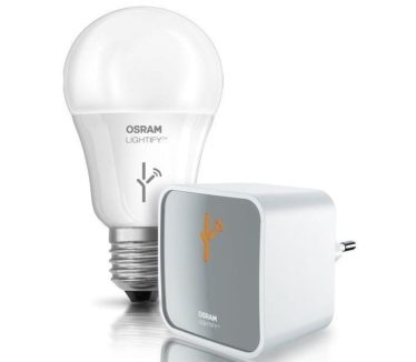Osram Lightify Smart Light in Hubsai's SmartHome plan